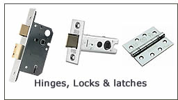 Hinges, Locks and Latches